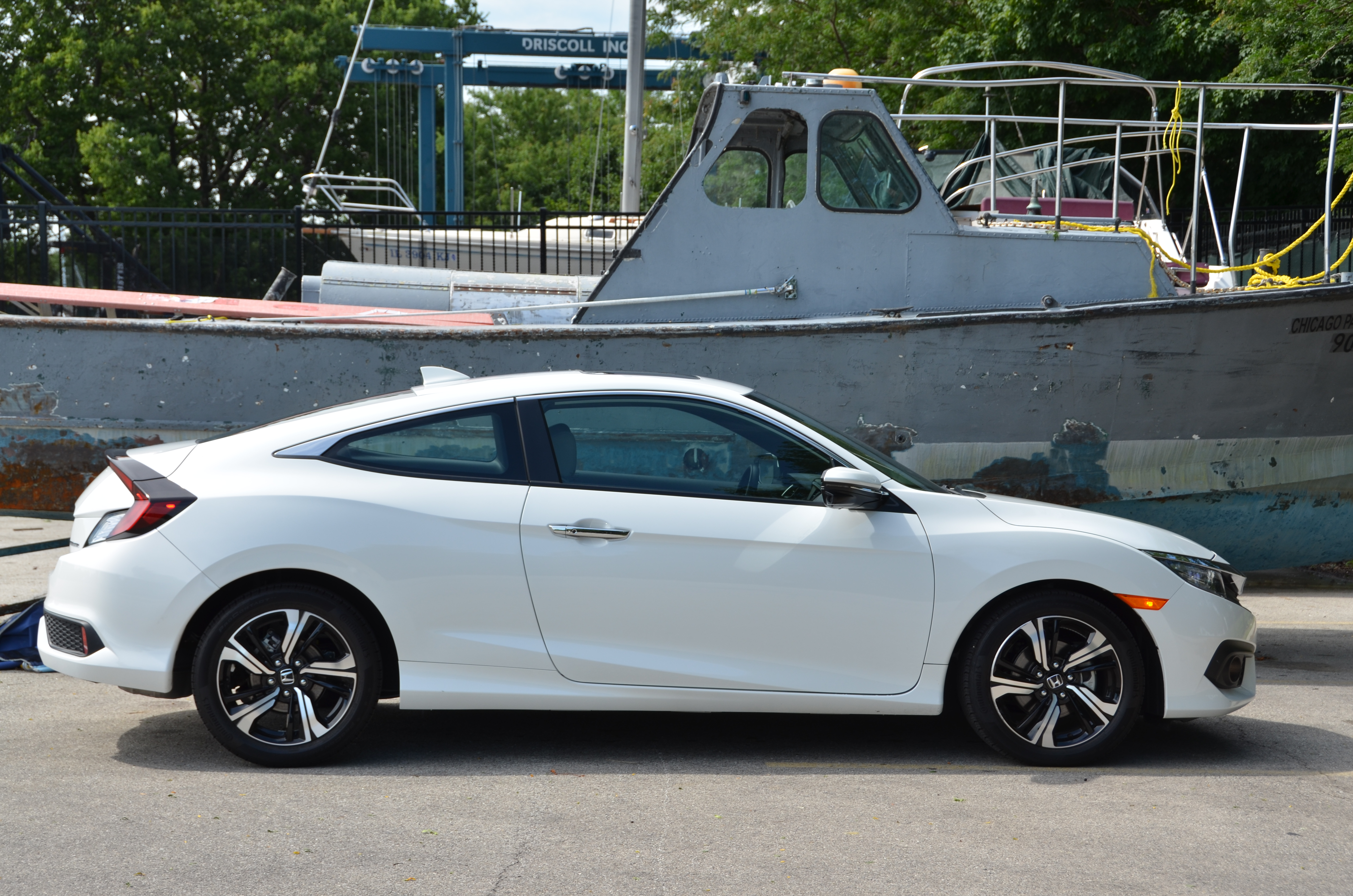 Hondau0027s Civic Is All New For 2016 And Was Named The North American Car Of  The Year. I Recently Test Drove The Civic 2 Door Coupe With The 174 HP  Turbo ...