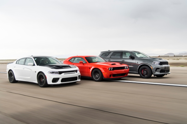 Dodge//SRT Performance Lineup: 2021 Charger SRT Hellcat Redeye,